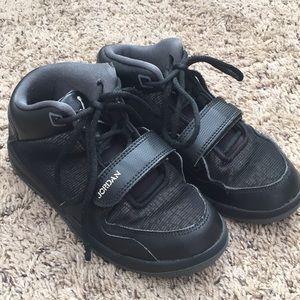Jordan Toddler Boy Black Shoes Sneakers Size 13